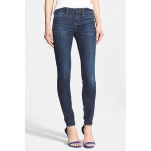 Vince Dark Wash Skinny Jeans